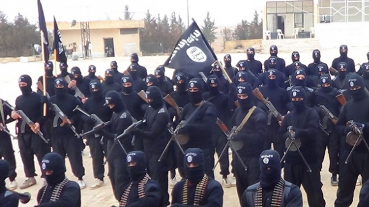 مسلحون من دولة الاسلام داعش