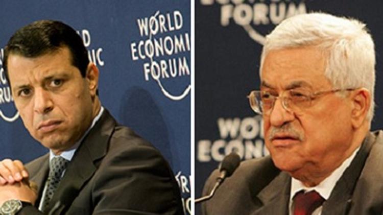 Mohamed Dahlan and Mahmoud Abbas