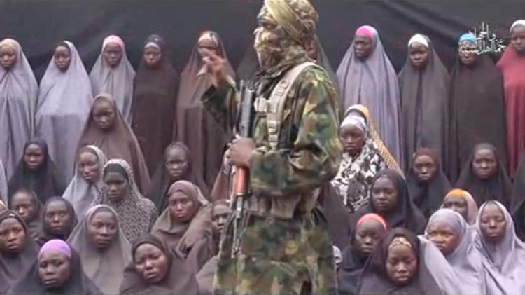 Boko Haram publie des images des filles enlevées