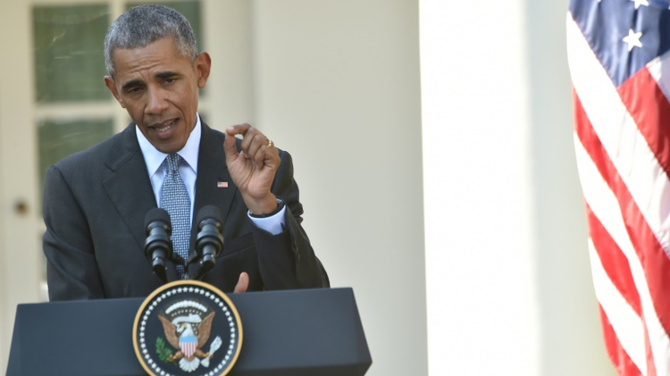 الرئيس الاميركي باراك اوباما في 18 تشرين الاول/اكتوبر 2016
