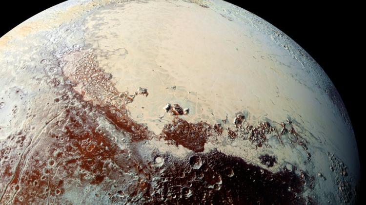 صورة للكوكب بلوتو التقطتها ناسا