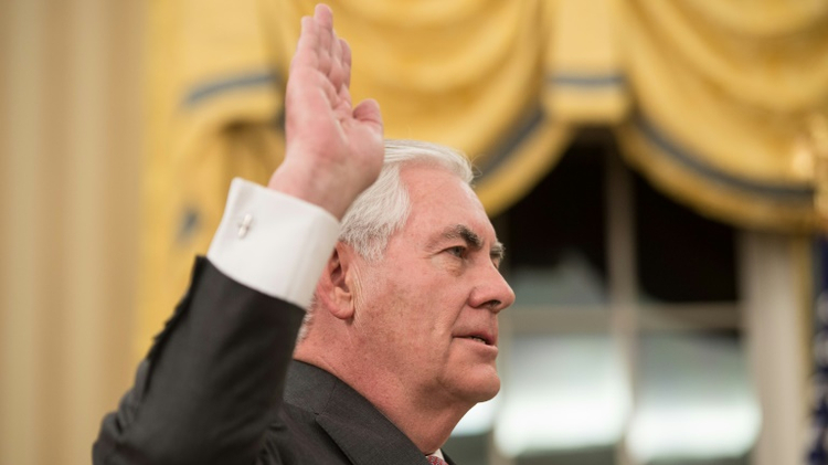 US Senate confirms Tillerson as Secretary of State