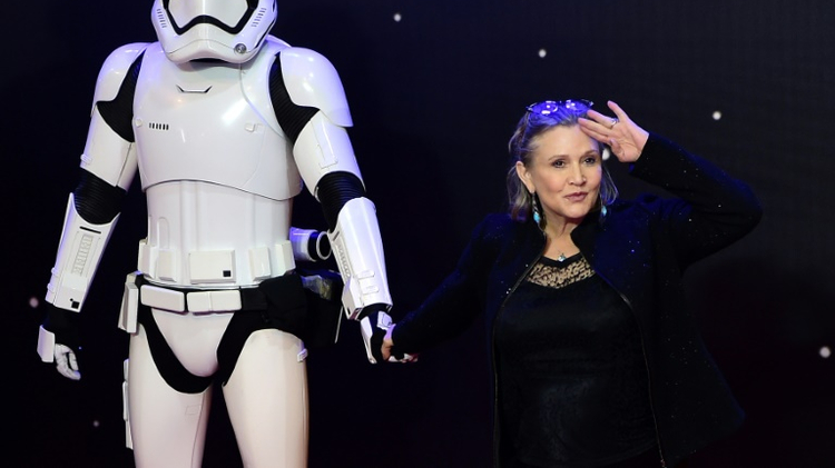 American Actress Carrie Fisher