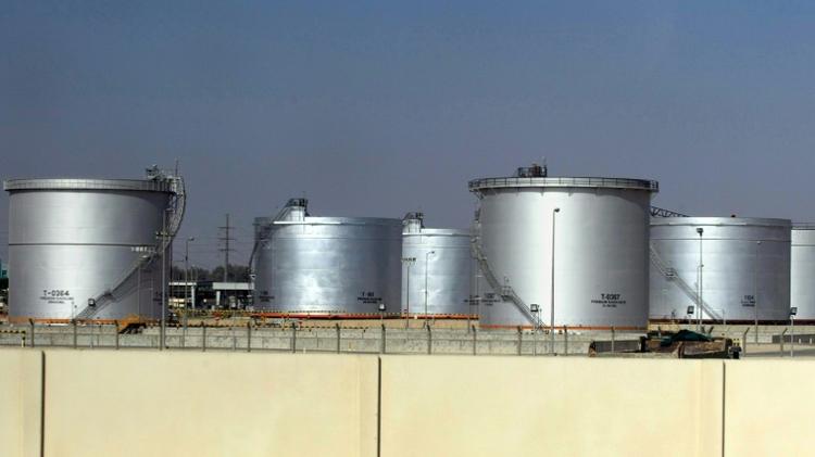 منشأة نفطية تابعة لشركة ارامكو السعودية في الدمام في 23 تشرين الثاني/نوفمبر 2007