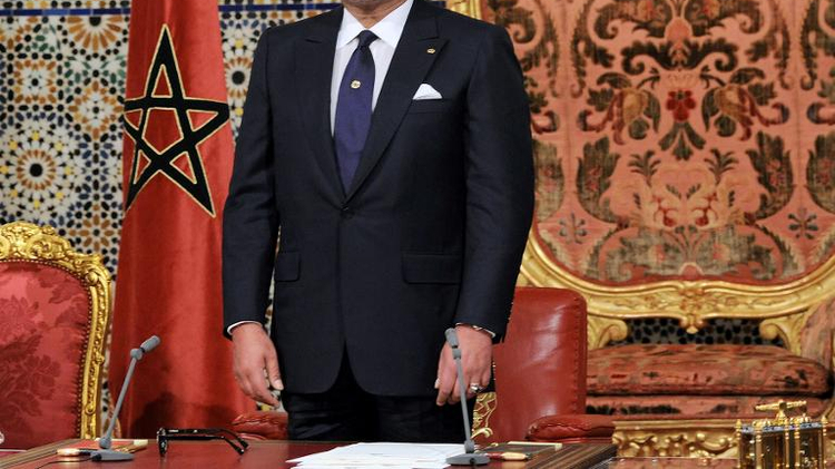 Morocco's King Mohammed VI, shown here in Rabat on August 20, 2013