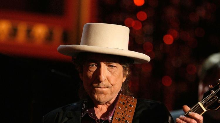Le chanteur et compositeur américain Bob Dylan, le 11 juin 2009 à Culver City en Californie