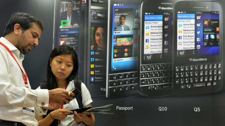 BlackBerry has sought to refocus on software, including security applications