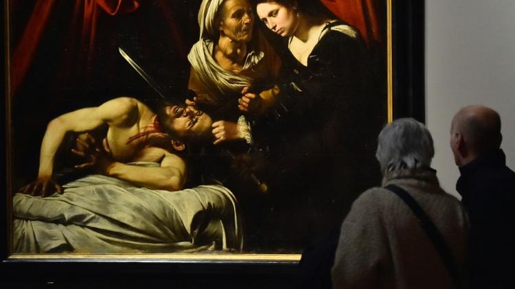 جوديث تقطع رأس هولوفيرنس - كارافاجيو