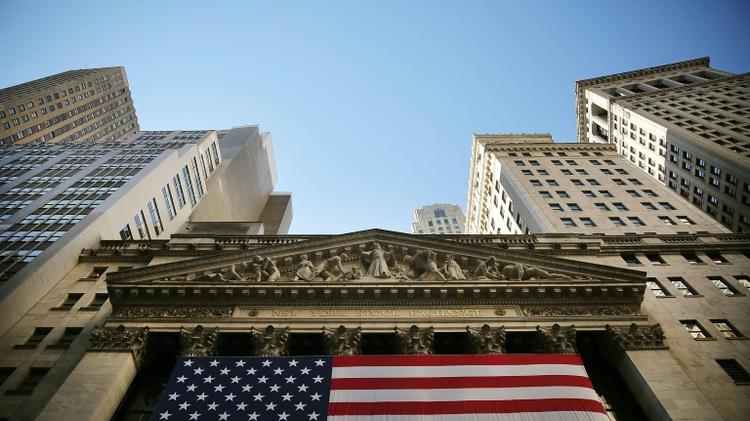 The New York Stock Exchange in Manhattan