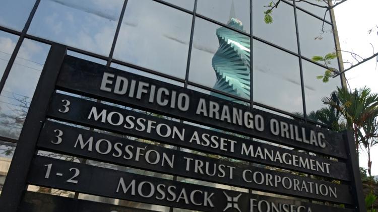 Vue du bâtiment où se trouvent les bureaux du cabinet d'avocats Mossack Fonseca à Panama City le 3 avril 2016