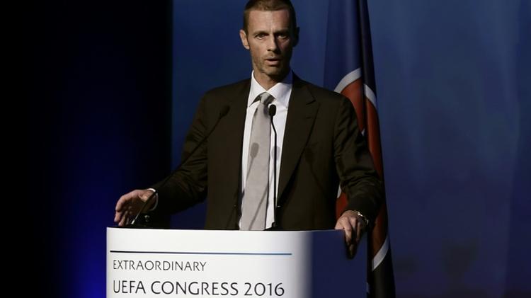 السلوفيني الكسندر تشيفيرين يتحدث في اثينا قبل انتخابه رئيسا جديدا للاتحاد الاوروبي