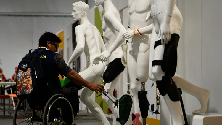 Ottobock, the world's biggest prosthetics company, shipped over a formidable amount of material for the Paralympics, 18 tons in all