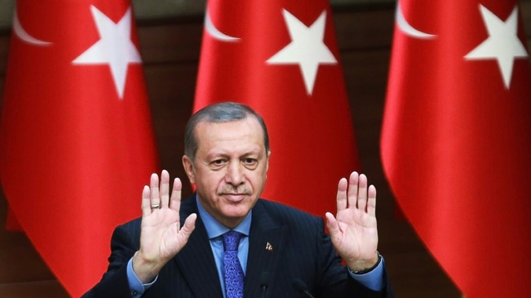 Turkish President Recep Tayyip Erdogan is seeking a strong presidency similar to France or the United States