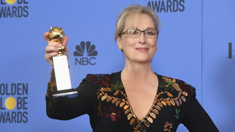 Actress Meryl Streep received the Cecil B. DeMille Award at the 74th Annual Golden Globe Awards on January 8, 2017