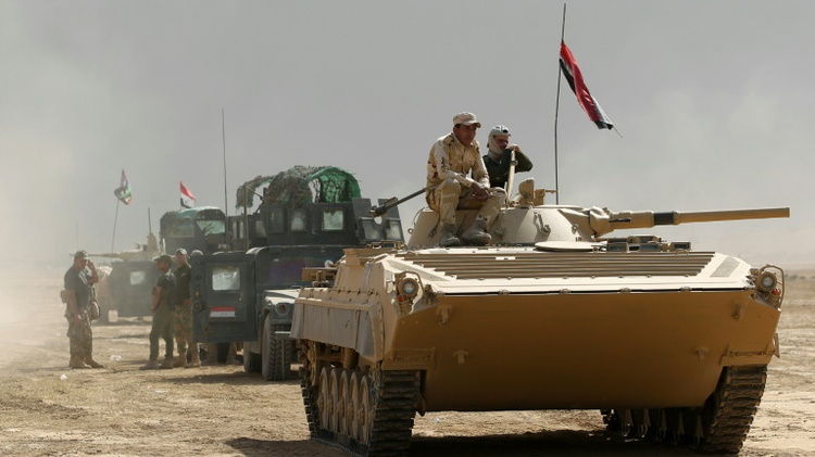القوات العراقية تتقدم بسرعة نحو مدينة الموصل