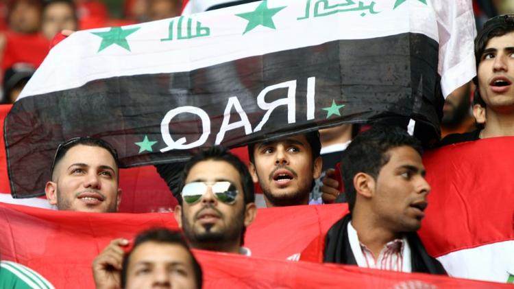 جماهير عراقية في الدوحة في 22 كانون الثاني/يناير 2011