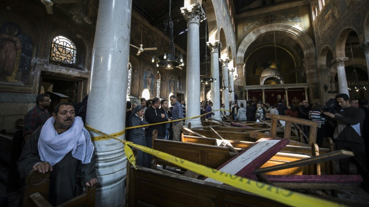 In Egypt Remand hearing for Cairo church bombing suspects