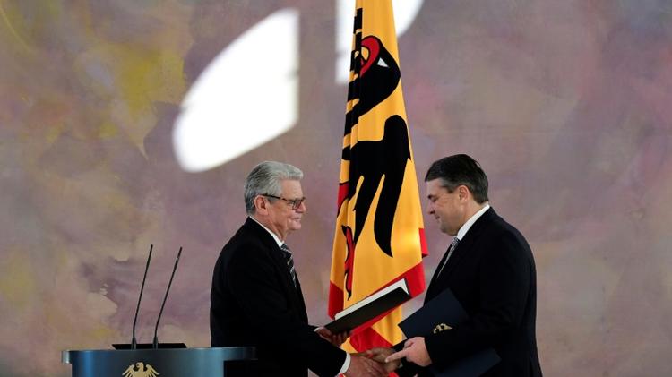 German President names Gabriel new foreign minister, dismisses Steinmeier