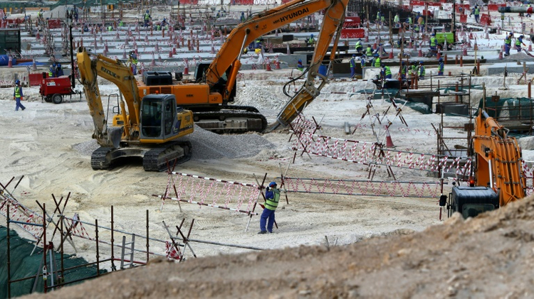 Rights groups have accused Qatar of abusing the rights of more than 5,000 workers helping to build the facilities for the Gulf state which will host the 2022 World Cup