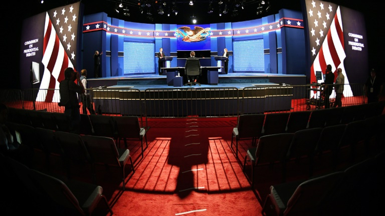 The venue for the last debate between Hillary Clinton and Donald Trump at the University of Nevada-Las Vegas on October 18, 2016