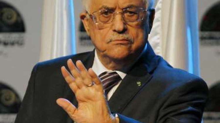 Le président palestinien Mahmoud Abbas à Ramallah le 19 juin 2014