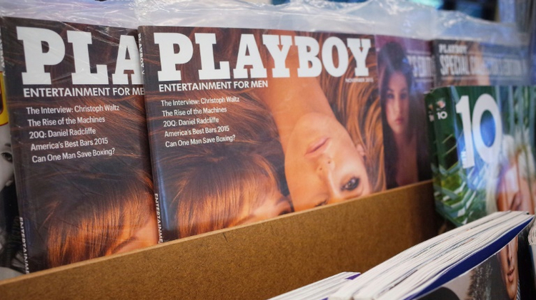 Now revamped Playboy magazine was once famous for bunnies and soft porn