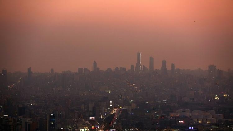 مشهد عام للعاصمة بيروت 22 يونيو 2016