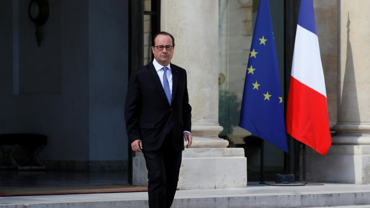 French President Francois Hollande, seen in July 2016, announced he will not run again for the office in 2017