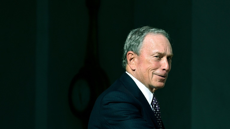 L'ancien maire de New York Michael Bloomberg, à Paris le 30 juin 2015