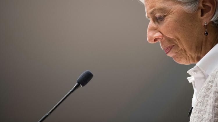 IMF managing director Christine Lagarde in Washington, July 14, 2016