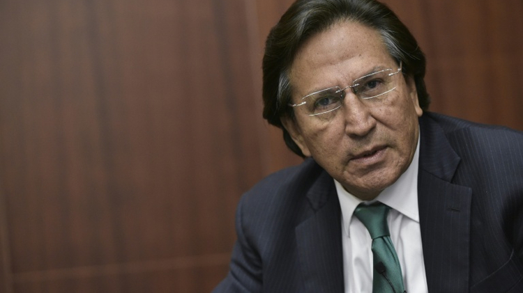 Peru offers reward for capture of ex-President Alejandro Toledo