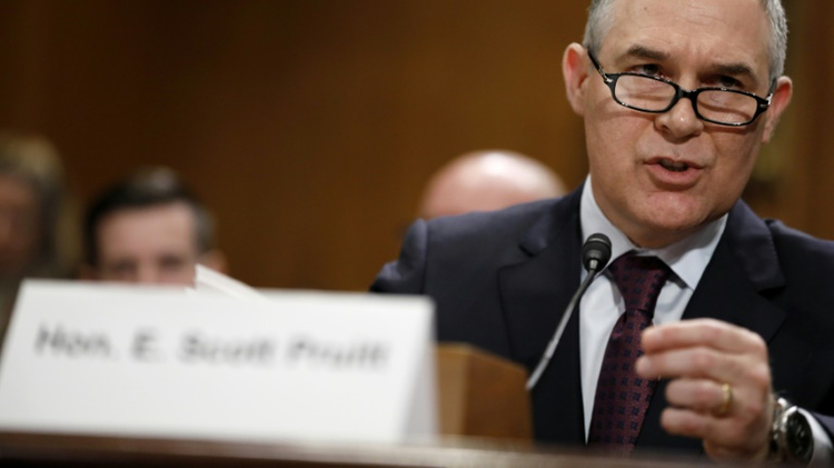 President's EPA nominee confirmed