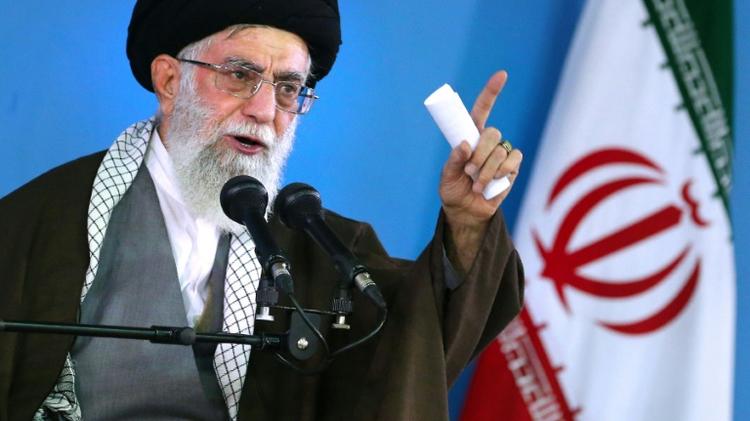 Ali Khamenei, le 6 mai 2015, à Téhéran