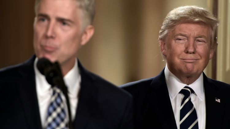 Did Neil Gorsuch distance himself from Donald Trump? It's complicated