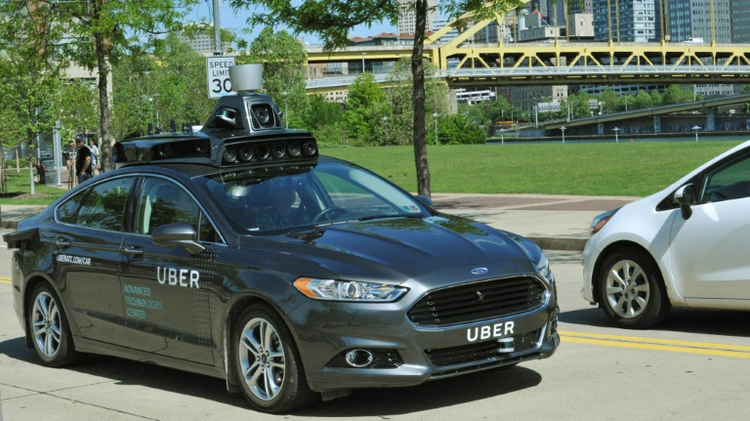 Uber unveiled its first self-driving car in May, beginning testing on the streets of Pittsburgh