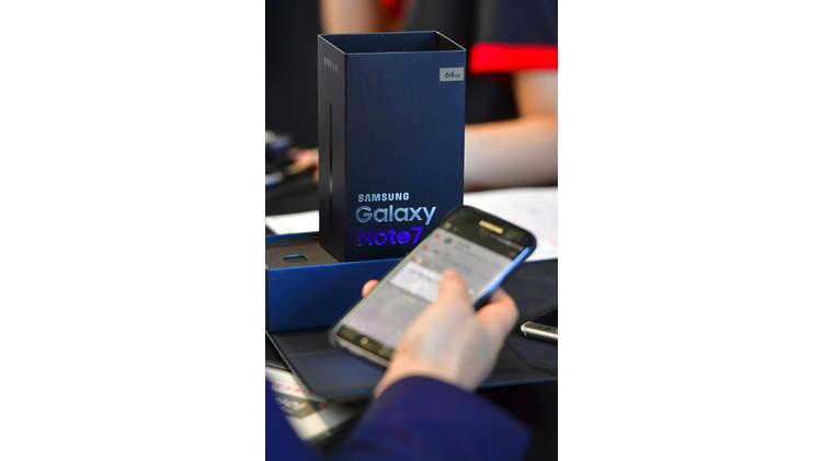 Samsung comptait sur le Galaxy Note 7 pour soutenir sa croissance jusqu'à la fin de l'année