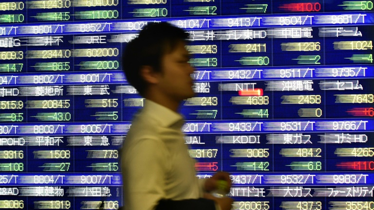 As the results of the November 8 US presidential election remained uncertain, stocks from New York to Tokyo swooned, wiping billions off investments and pensions