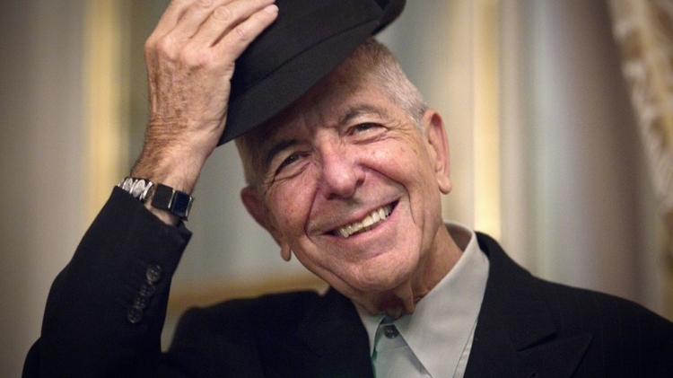 Canadian singer and songwriter Leonard Cohen, January 16, 2012 in Paris