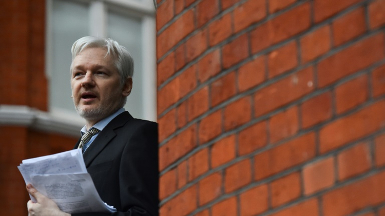 Julian Assange, 45, has been at the Ecuadoran embassy in London since 2012, having taken refuge to avoid being sent to Sweden where he faces rape allegations that he denies