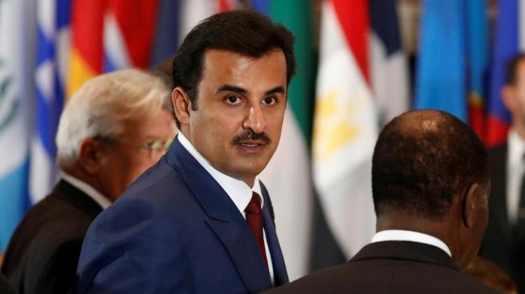 أمير قطر تميم بن حمد بن خليفة آل ثاني في نيويورك في 20 ايلول/سبتمبر 2016