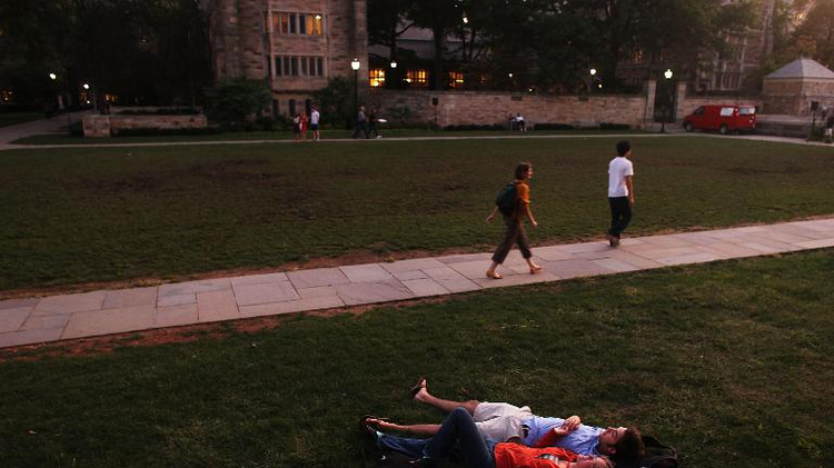 Yale students protest college named after proponent of slavery