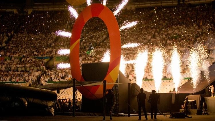 Les Jeux Paralympiques de Rio, dernier grand événement organisé par le Brésil, ici à l'ouverture le 5 septembre 2016