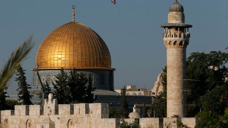 The resolution adopted by UNESCO refers to the Temple Mount compound in east Jerusalem's Old City -- Judaism's holiest site -- only by its Muslim name