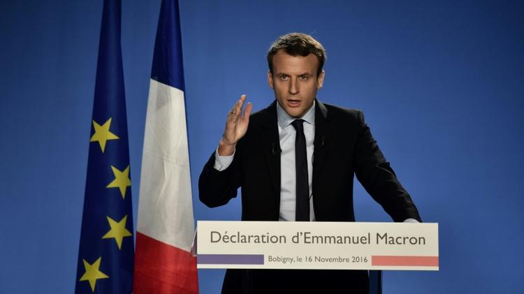 La candidature de Macron irrévocable , même si Hollande se représente — Présidentielle