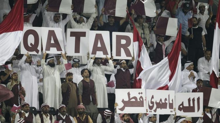 جماهير قطرية في 2012