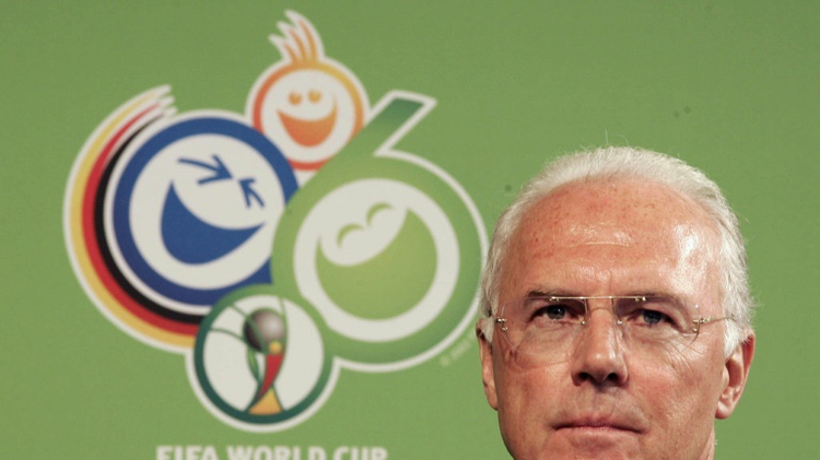 FIFA's ethics committee last month sanctioned German football legend Franz Beckenbauer for failing to cooperate with a probe into the bidding for the 2018 and 2022 World Cups