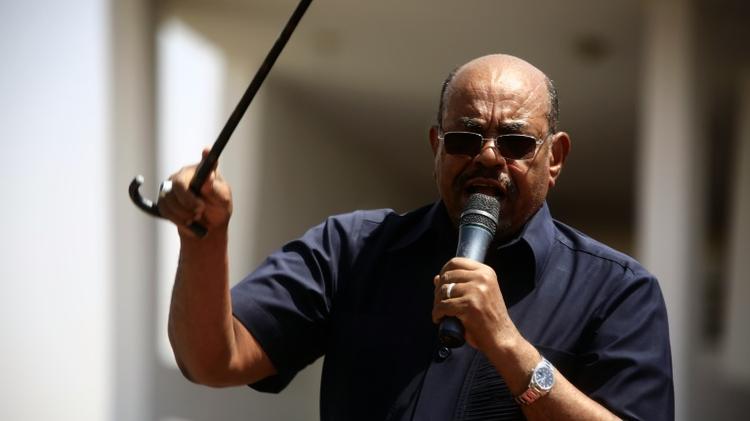 الرئيس السوداني عمر البشير في الخرطوم في 11 تشرين الاول/اكتوبر 2016