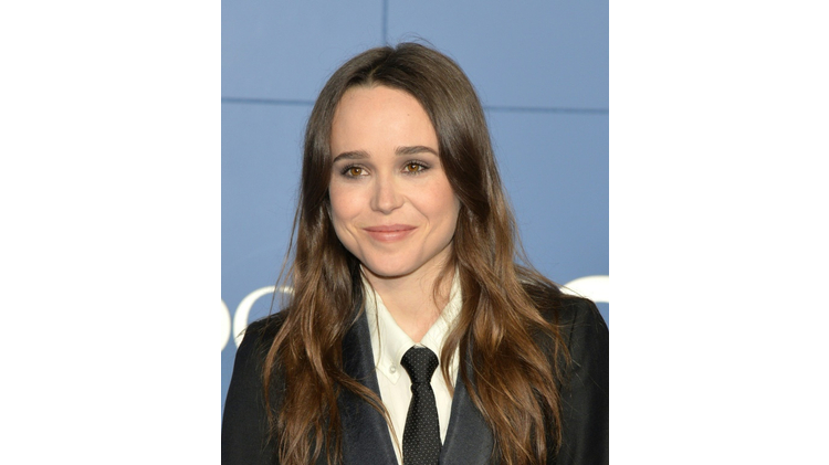 Ellen Page, pictured on May 10, 2014