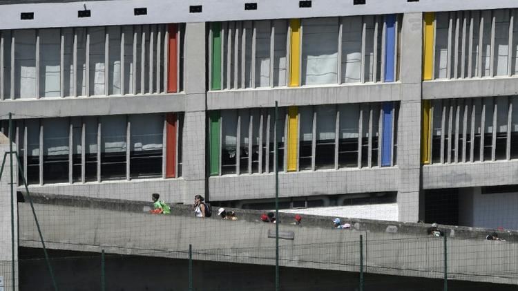 Tthe Maison de la Culture by French architect Le Corbusier