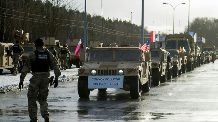 NATO will deploy 3,500 personnel, 87 tanks and 144 Bradley fighting vehicles to western Poland